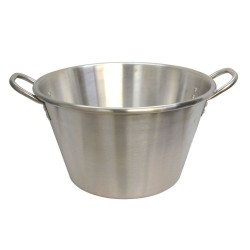 "25"" Stainless Steel Cazo - Wok - Frying Pot - XL"