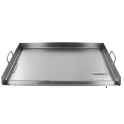 "AW3622-36"" x 22"" Thick Stainless Steel Griddle - Triple Flat Top Grill - Plancha"