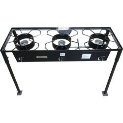 AW112797- Huge Triple High Pressure Portable Propane Outdoor Cooker - Camp Stove